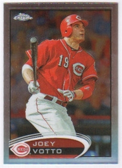 2012  Topps Chrome Refractors #40 Joey Votto