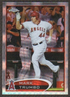 2012  Topps Chrome X-Fractors #83 Mark Trumbo