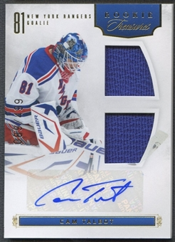 2011/12 Panini Rookie Anthology #154 Cam Talbot Rookie Jersey Auto #089/499