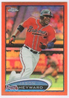 2012 Topps Chrome Orange Refractors #12 Jason Heyward