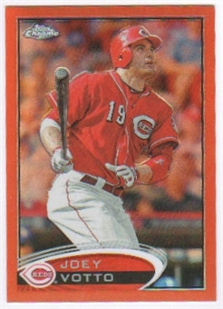 2012 Topps Chrome Orange Refractors #40 Joey Votto