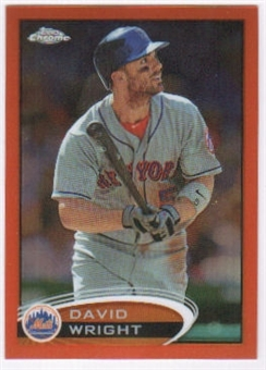 2012 Topps Chrome Orange Refractors #41 David Wright