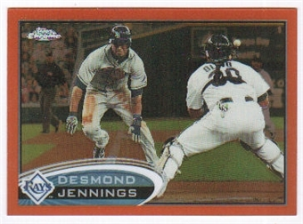 2012 Topps Chrome Orange Refractors #43 Desmond Jennings
