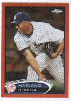 2012 Topps Chrome Orange Refractors #150 Mariano Rivera