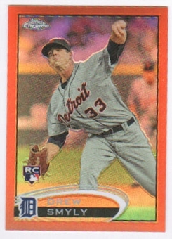 2012 Topps Chrome Orange Refractors #191 Drew Smyly
