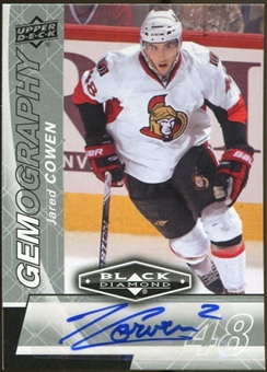 2010/11 Upper Deck Black Diamond Gemography #GJC Jared Cowen Autograph
