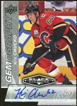 2010/11 Upper Deck Black Diamond Gemography #GKC Kris Chucko Autograph