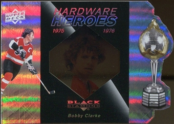 2010/11 Upper Deck Black Diamond Hardware Heroes #HHBC Bobby Clarke /100