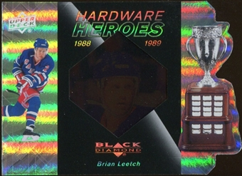 2010/11 Upper Deck Black Diamond Hardware Heroes #HHBL Brian Leetch /100