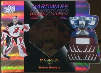 2010/11 Upper Deck Black Diamond Hardware Heroes #HHBR Martin Brodeur /100
