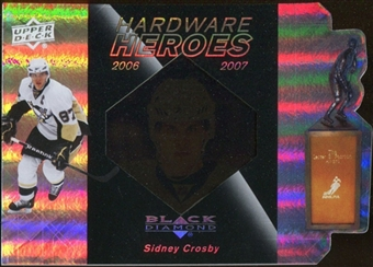 2010/11 Upper Deck Black Diamond Hardware Heroes #HHCR Sidney Crosby /100