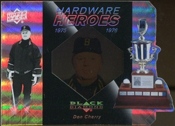 2010/11 Upper Deck Black Diamond Hardware Heroes #HHDC Don Cherry /100