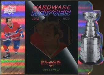 2010/11 Upper Deck Black Diamond Hardware Heroes #HHGL Guy Lafleur /100