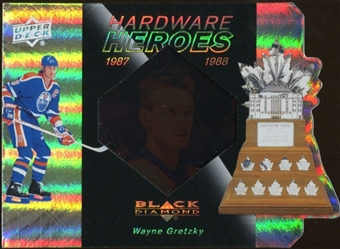 2010/11 Upper Deck Black Diamond Hardware Heroes #HHGR Wayne Gretzky /100