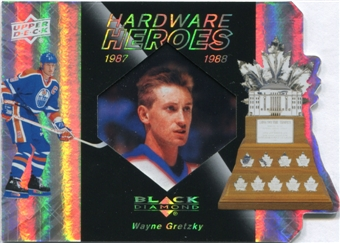 2010/11 Upper Deck Black Diamond Hardware Heroes #HHGR Wayne Gretzky 8/100