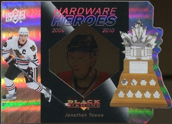 2010/11 Upper Deck Black Diamond Hardware Heroes #HHJT Jonathan Toews /100
