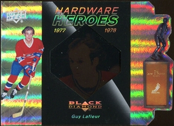 2010/11 Upper Deck Black Diamond Hardware Heroes #HHLG Guy Lafleur /100