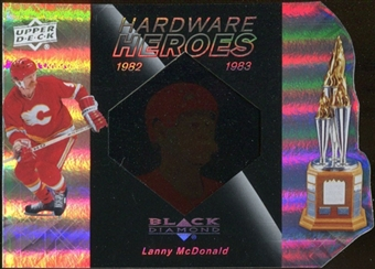 2010/11 Upper Deck Black Diamond Hardware Heroes #HHLM Lanny McDonald /100
