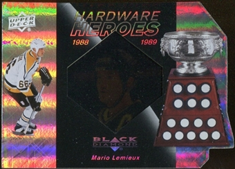 2010/11 Upper Deck Black Diamond Hardware Heroes #HHML Mario Lemieux /100