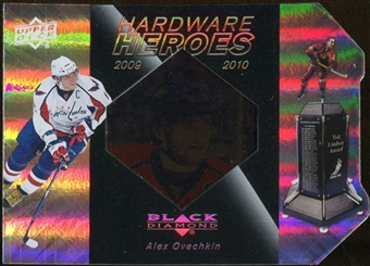 2010/11 Upper Deck Black Diamond Hardware Heroes #HHOV Alexander Ovechkin /100