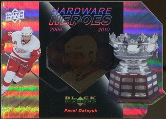 2010/11 Upper Deck Black Diamond Hardware Heroes #HHPD Pavel Datsyuk /100