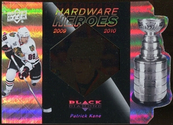 2010/11 Upper Deck Black Diamond Hardware Heroes #HHPK Patrick Kane /100