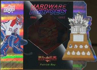 2010/11 Upper Deck Black Diamond Hardware Heroes #HHPR Patrick Roy /100