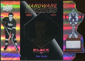 2010/11 Upper Deck Black Diamond Hardware Heroes #HHRK Red Kelly /100