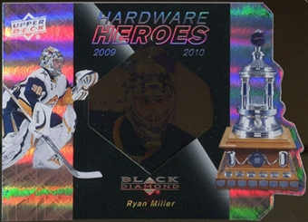 2010/11 Upper Deck Black Diamond Hardware Heroes #HHRM Ryan Miller /100