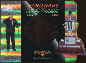 2010/11 Upper Deck Black Diamond Hardware Heroes #HHSB Scotty Bowman /100