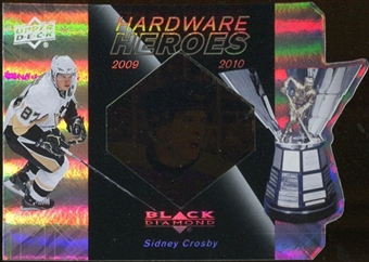 2010/11 Upper Deck Black Diamond Hardware Heroes #HHSC Sidney Crosby /100