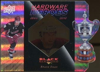 2010/11 Upper Deck Black Diamond Hardware Heroes #HHSD Shane Doan /100