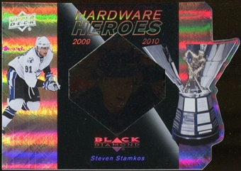 2010/11 Upper Deck Black Diamond Hardware Heroes #HHSS Steven Stamkos /100
