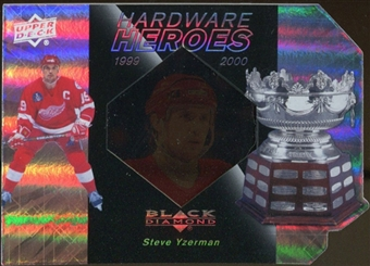 2010/11 Upper Deck Black Diamond Hardware Heroes #HHSY Steve Yzerman /100