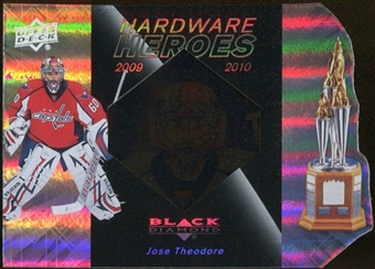 2010/11 Upper Deck Black Diamond Hardware Heroes #HHTH Jose Theodore /100