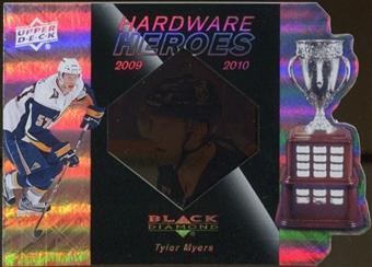 2010/11 Upper Deck Black Diamond Hardware Heroes #HHTM Tyler Myers /100