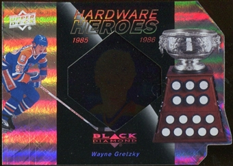 2010/11 Upper Deck Black Diamond Hardware Heroes #HHWG Wayne Gretzky /100