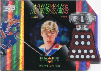 2010/11 Upper Deck Black Diamond Hardware Heroes #HHWG Wayne Gretzky 74/100
