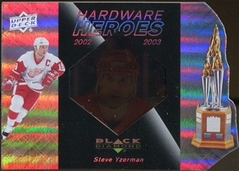 2010/11 Upper Deck Black Diamond Hardware Heroes #HHYS Steve Yzerman /100