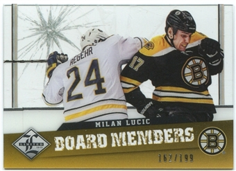 2012/13 Panini Limited Board Members #15 Milan Lucic 162/199