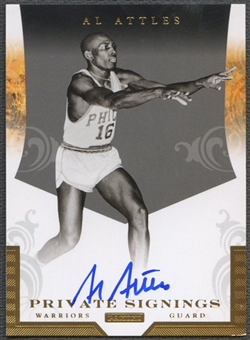 2012/13 Totally Certified #3 Al Attles Private Signings Auto