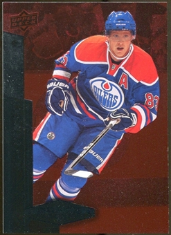 2010/11 Upper Deck Black Diamond Ruby #1 Ales Hemsky /100