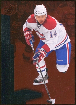 2010/11 Upper Deck Black Diamond Ruby #3 Tomas Plekanec 29/100