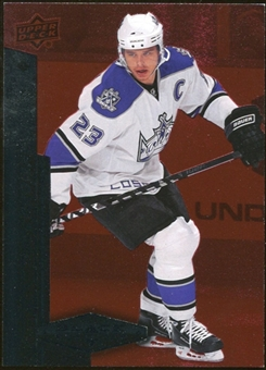 2010/11 Upper Deck Black Diamond Ruby #14 Dustin Brown 81/100