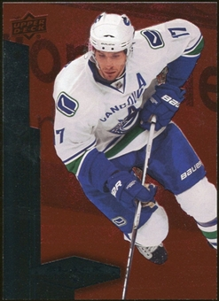 2010/11 Upper Deck Black Diamond Ruby #36 Ryan Kesler /100