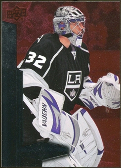 2010/11 Upper Deck Black Diamond Ruby #38 Jonathan Quick /100