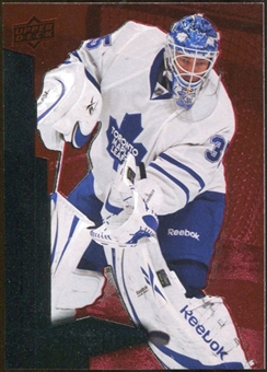 2010/11 Upper Deck Black Diamond Ruby #52 Jean-Sebastien Giguere /100