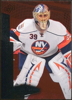 2010/11 Upper Deck Black Diamond Ruby #76 Rick DiPietro /100