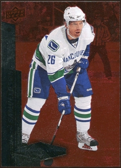 2010/11 Upper Deck Black Diamond Ruby #84 Mikael Samuelsson /100
