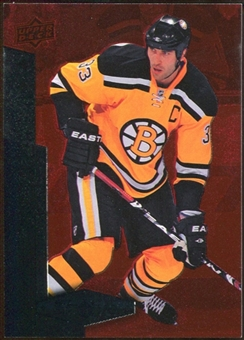 2010/11 Upper Deck Black Diamond Ruby #94 Zdeno Chara /100